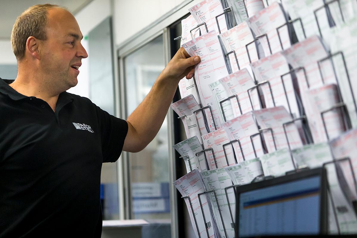 Digitalisering van de vrachtbrieven/handtekening klant