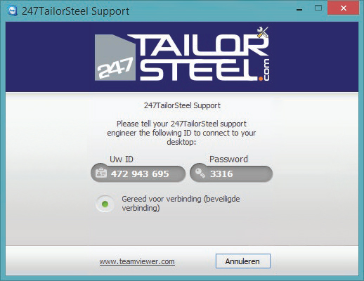 247TailorSteel Support