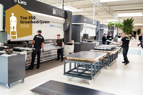 247TailorSteel dans le top 250 des entreprises en croissance