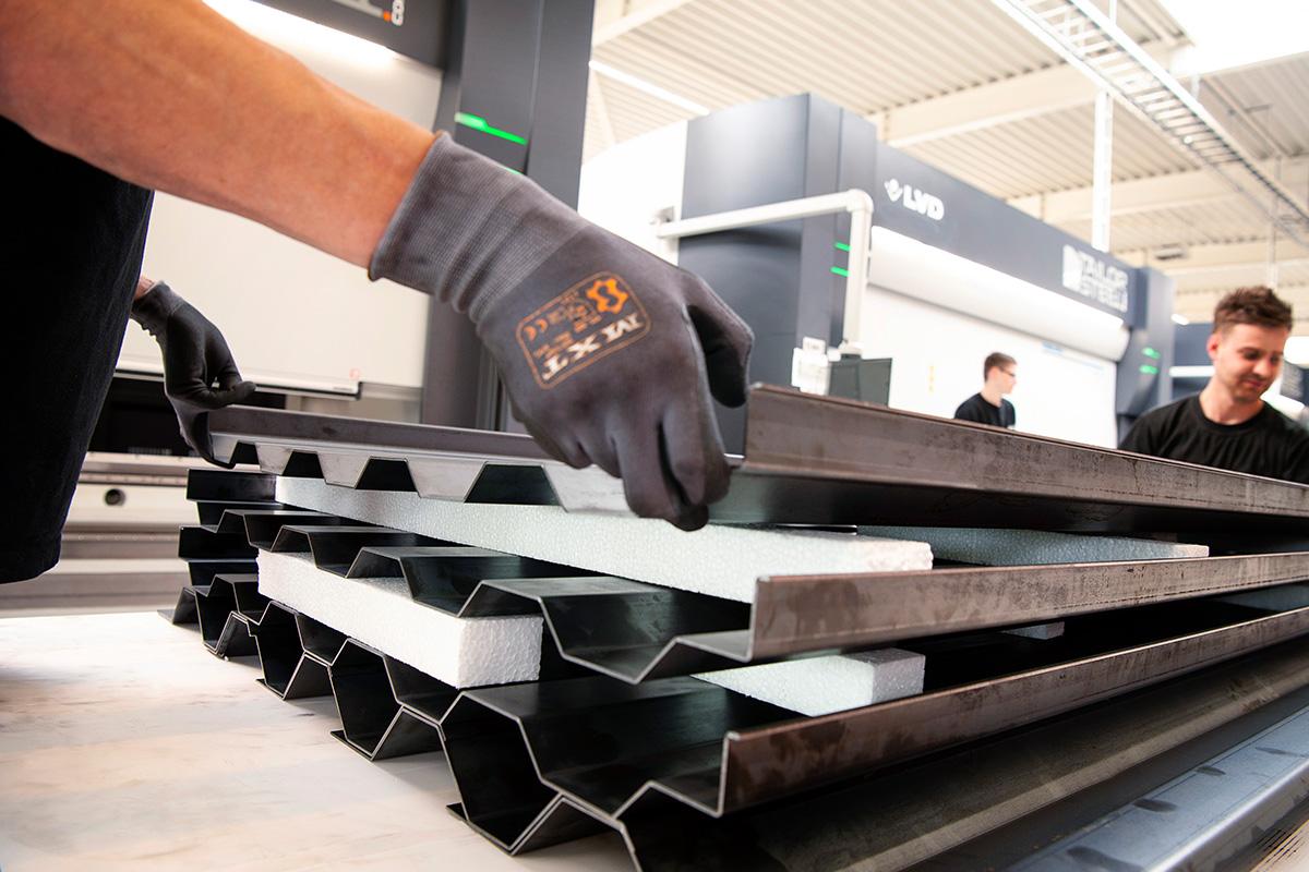 247TailorSteel Produktionhall