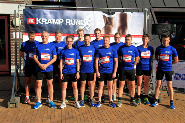 247TailorSteel aan de start bij de Kramp Run