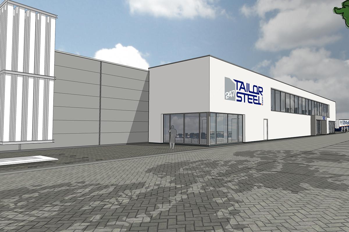 247TailorSteel bouwt nieuwe Duitse vestiging