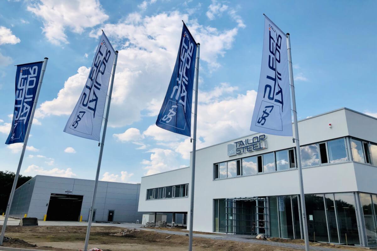 De productie in de nieuwe fabriek in Hilden gaat van start