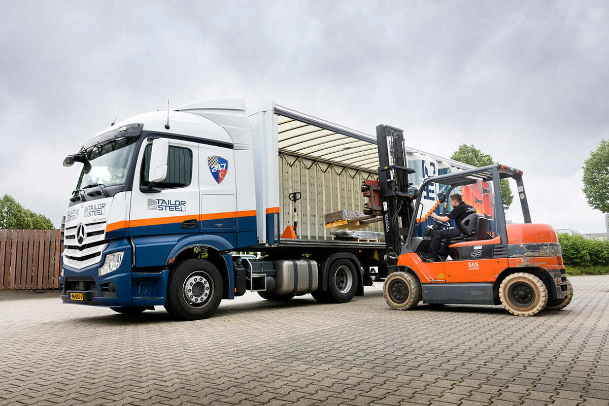 247TailorSteel genomineerd voor de Best Logistics Supplier Award