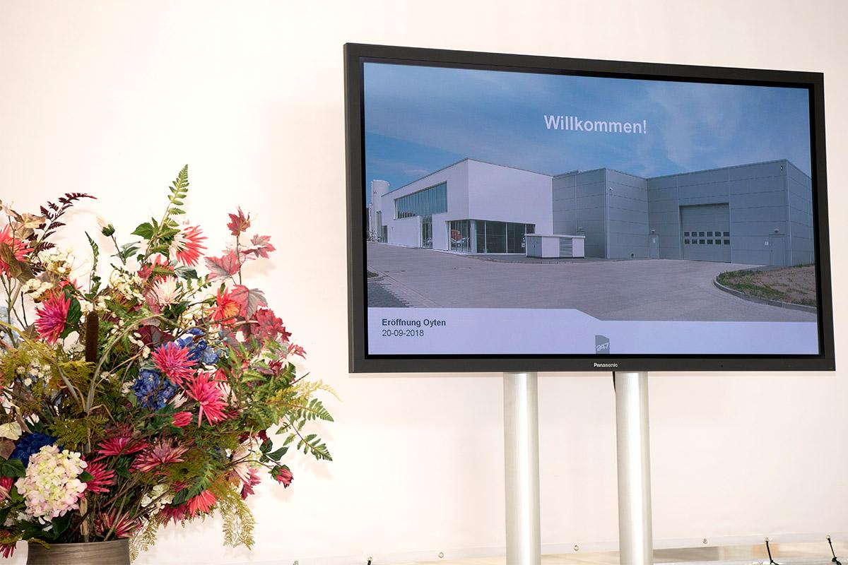 Eröffnung des neuen Standorts in Oyten